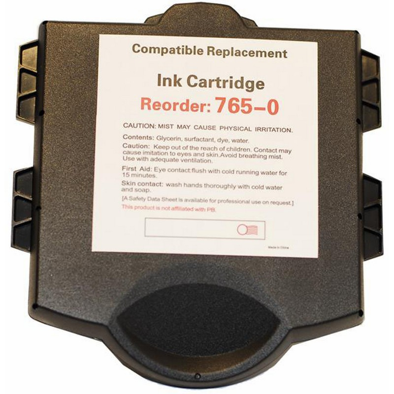 Pitney Bowes 765-0 Red Ink Cartridge