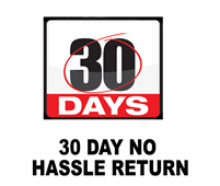 30 Day No Hassle Return